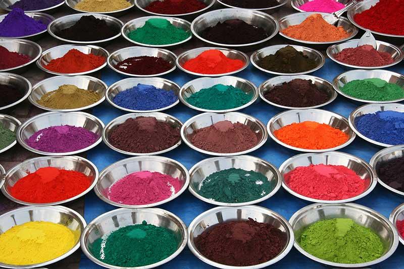رنگ پودری الکترو استاتیک